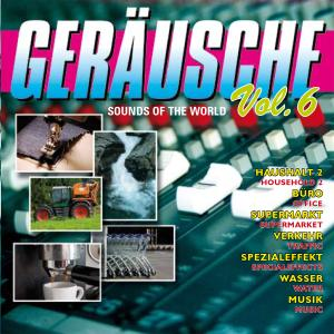VARIOUS - GERÄUSCHE VOL.6-SOUNDS OF THE WORLD