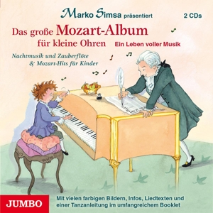 SIMSA,MARKO - DAS GROSSE MOZART-ALBUM FÜR KLEINE OHREN.