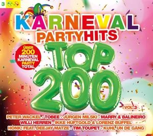 VARIOUS - KARNEVAL PARTY HITS TOP 200 VOL.3