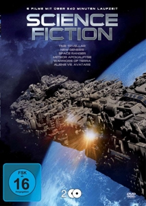 SULLIVAN/BLUEMKE/KEACH/MICHELL - SCIENCE FICTION BOX (6 FILME AUF 2 DVDS)