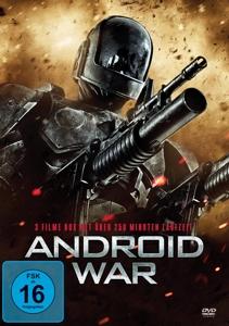 GORTNER/MUNRO/PLUMMER/HASSELHO - ANDROID WAR (3 FILME AUF DVD)