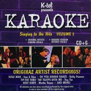 VARIOUS - KARAOKE SINGING TO THE HITS VOLUME 2