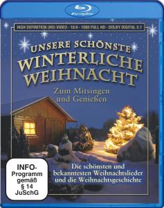 VARIOUS - UNSERE SCHÖNSTE WINTERLICHE WEIHNACHT-BLU RAY