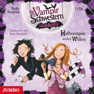 DANOWSKI,KATJA - DIE VAMPIRSCHWESTERN BLACK & PINK (1). HALBVAMPIRE