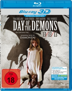 IRELAND/COCKER/BARTON/VORHEES - DAY OF THE DEMONS REAL 3D (BLU-RAY)