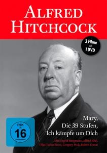 TSCHECHOWA/BERGMANN/PECK/ABEL/ - ALFRED HITCHCOCK (3 FILME AUF DVD)