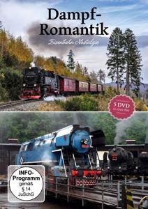 VARIOUS - DAMPF-ROMANTIK: EISENBAHN NOSTALGIE (5 DVD)