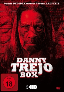 TREJO/CARPENTER/KILPATRIC/GAIN - DANNY TREJO MEGA BOX-EDITION (9 FILME AUF 3 DVDS)