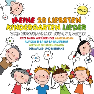 VARIOUS - MEINE 20 LIEBSTEN KINDERGARTEN LIEDER VOL. 7