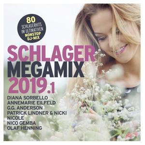 VARIOUS - SCHLAGER MEGAMIX 2019.1