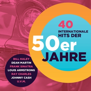 VARIOUS - 40 INTERNATIONALE HITS DER 50ER