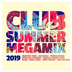VARIOUS - CLUB SUMMER MEGAMIX 2019
