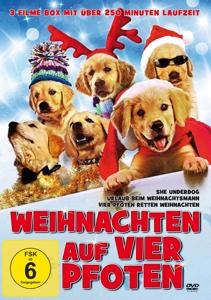 AKERMAN/SUSSMAN/SORBO/LITTLE/R - WEIHNACHTEN AUF VIER PFOTEN (3 FILME AUF 1 DVD)