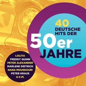 VARIOUS - 40 DEUTSCHE HITS DER 50ER