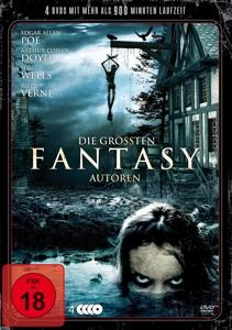 VARIOUS - DIE GRÖSSTEN FANTASY AUTOREN (10 FILME AUF 4 DVDS)