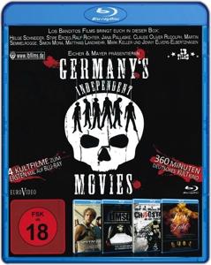 SCHNEIDER/RUDOLPH/SEMMELROGGE/ - GERMANY'S INDEPENDENT MOVIES - 4 FILM-BOX