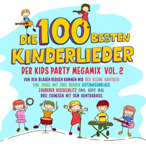 VARIOUS - DIE 100 BESTEN KINDERLIEDER VOL.2 DER KIDS PARTY