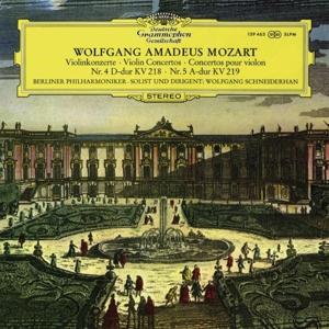 BERLINER PHILHARMONIKER - WOLFGANG AMADEUS MOZART:VIOLINKONZERTE (180G)