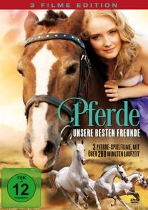 IRONSIDE/TAYLOR/PETERSEN/TICOT - PFERDE, UNSERE BESTEN FREUNDE (3 FILME AUF DVD)
