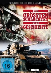 VARIOUS - DIE GRÖSSTEN SCHLACHTEN DER GESCHICHTE (13 FILME)