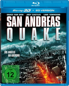 VAN DIEN/CASTLES/TOWNSEND - SAN ANDREAS QUAKE - LOS ANGELES AM ABGRUND (3D BD)