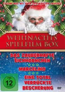 DURANTE/MOORE/TOMMASI/RUIZ/STE - WEIHNACHTS SPIELFILM BOX (3 FILME AUF 1 DVD)