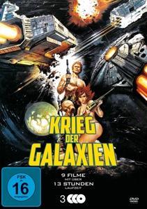 VARIOUS - KRIEG DER GALAXIEN (9 FILME AUF 3 DVD)