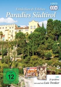 TRENKER/HOLD/FREITAG/ULLRICH - PARADIES SÜDTIROL - ENTDECKEN & ERLEBEN (3 DVDS)