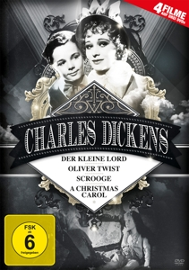 BARTHOLOMEW/ROONEY/BARRYMORE/M - CHARLES DICKENS (4 FILME AUF 3 DVDS)