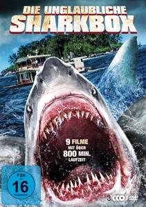ZIERING/REID/HASSELHOFF/TREJO/ - DIE UNGLAUBLICHE SHARKBOX (9 FILME AUF 3 DVDS)