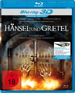 WALLACE/LYDIC/GRECO - HÄNSEL & GRETEL REAL 3D (BLU-RAY)
