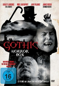 PALANCE/WARD/DAVENPORT/BRIANT/ - GOTHIC HORROR BOX (3 FILME AUF DVD)