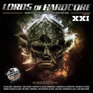 VARIOUS - LORDS OF HARDCORE VOL.21