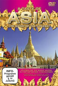 VARIOUS - A TASTE OF ASIA-DVD