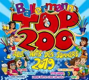 VARIOUS - BALLERMANN TOP 200 ALLE HITS DES SOMMERS 2019