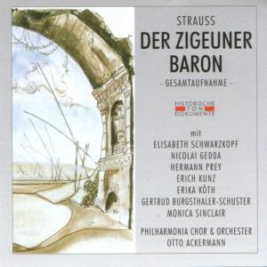 PHILHARMONIA CHOR & ORCHESTER - DER ZIGEUNERBARON