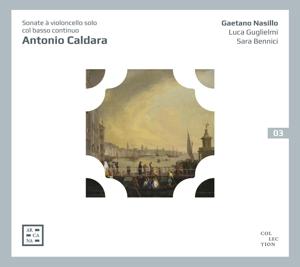 Antonio Caldara: Sonaten für Violoncello und b.c.