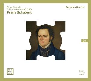 """Franz Schubert: Streichquartett Nr. 4, D 46 & Nr. 13 """"Rosamunde"""" D 804"""