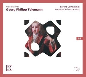 Georg Philipp Telemann: Viola da Gamba - Konzerte, Quartett, Sonaten
