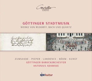 Rudorff/Quantz u.a. - Göttinger Stadtmusik - Geistliche Vokalmusik; Flötenkonzert u.a.