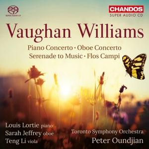 Ralph Vaughan Williams - Klavierkonzert in C/Serenade to Music/Flos Campi u.a.