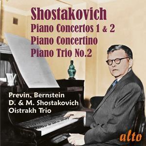Dmitri Schostakowitsch: Klavierkonzerte 1 & 2; Klaviertrio Nr. 2 u.a.