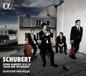 """Franz Schubert - Streichquartette 10 & 14 """"Der Tod und das Mädchen"""""""