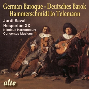 German Baroque - From Hammerschmidt to Telemann