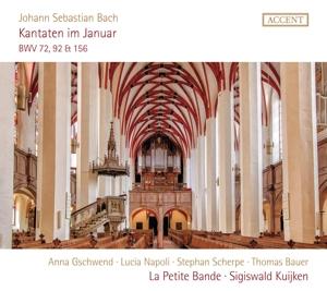 Johann Sebastian Bach: Kantaten im Januar- BWV 72, 92 & 156