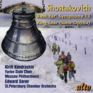 "Dmitri Schostakowitsch: Sinfonie Nr. 13 ""Babi Yar""; Incidental Music for King Lear, Op. 58a"