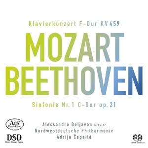 Wolfgang Amadeus Mozart: Klavierkonzert KV 459 - Ludwig van Beethoven: Sinfonie Nr. 1 C-Dur