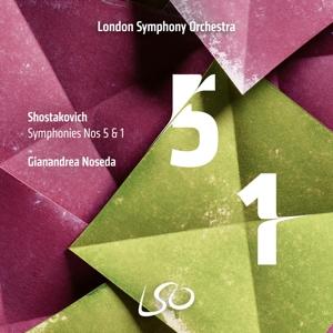 Dmitri Schostakowitsch: Sinfonien 5 & 1
