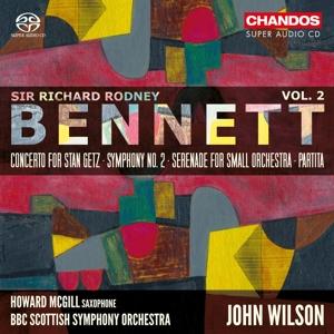 Sir Richard Rodney Bennett - Orchesterwerke Vol. 2 - Sinfonie Nr. 2/Partita u.a.