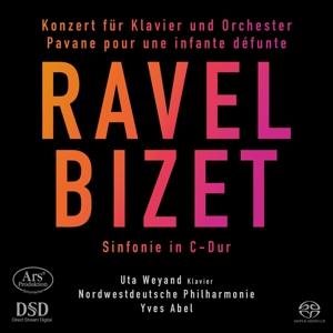 Maurice Ravel; George Bizet: Klavierkonzert G-Dur; Sinfonie C-Dur